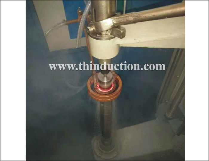 High Frequency Shaft Induction Hardening Machine