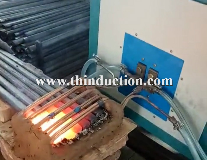 Bolts Ends Heating Induction Forging Machine