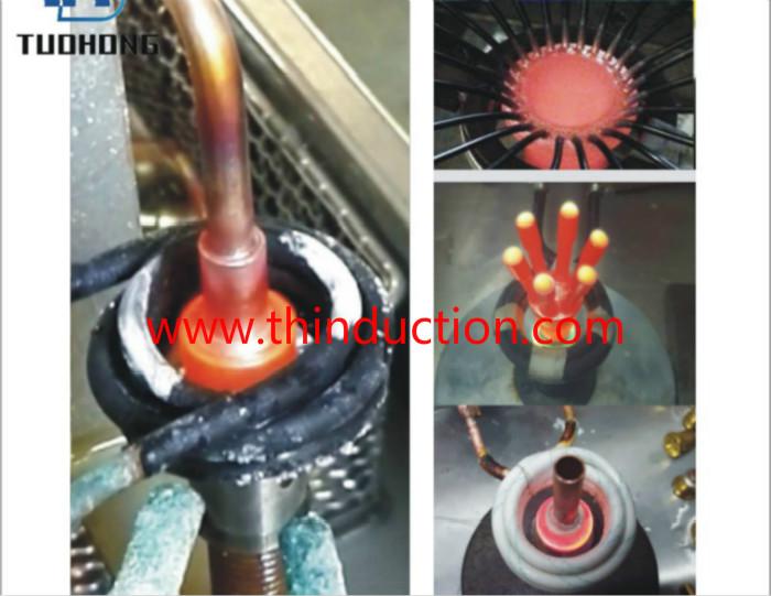 Digital intelligent high frequency induction brazing machine