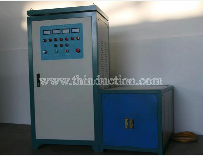 Copper brass rod induction forging heating machine