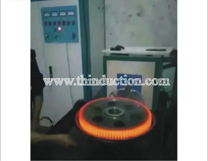 High Frequency Gear Hardening Machine