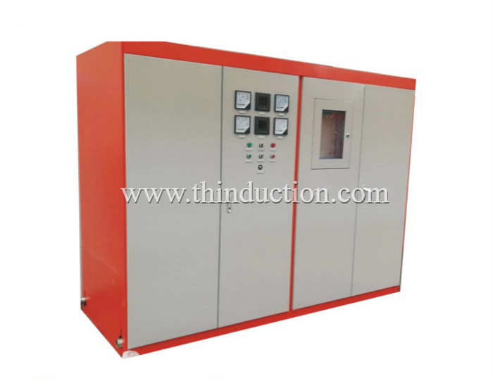 Continuous casting billets induction heating furnace