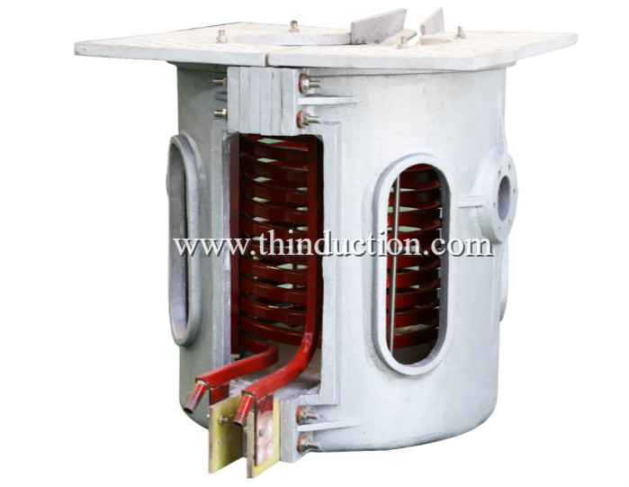 Casting Iron Induction Melting Furnace GW-0.75