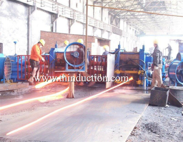 Steel Billet induction heating furnace for hot rolling