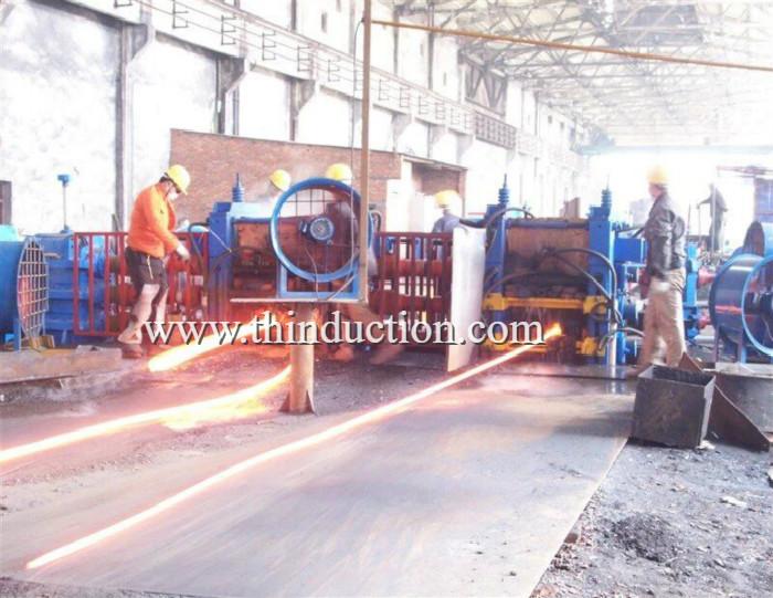 Steel Billet induction heating furnace for hot rolling