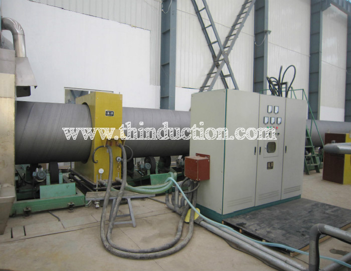 steel pipe anti-corrosion induction heating machine for coating