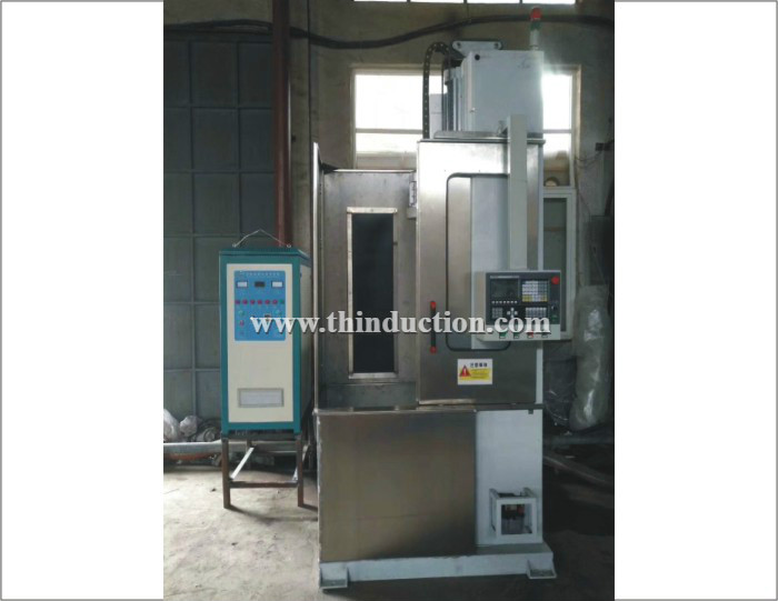 Gear Shaft Quenching Vertical induction Hardening System