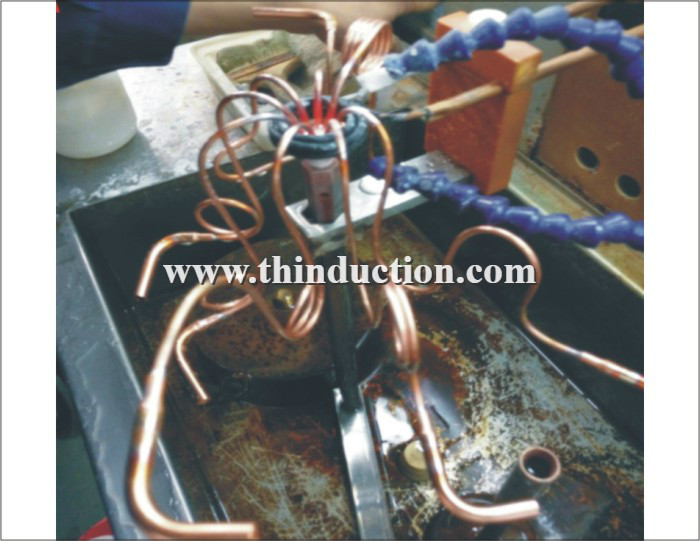 Copper Tube Brazing Induction Welding Machine