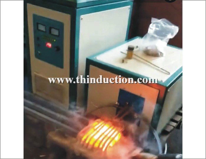 65KW Steel bar induction heater machine