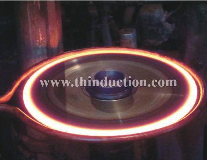 90KW Gear shaft Heat Treatment Induction Heating Machine