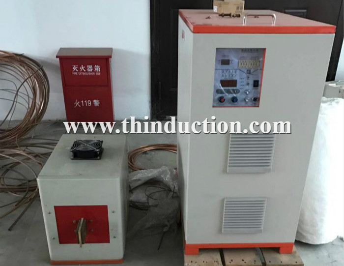 60KW/100-400KHZ gear induction hardening machine