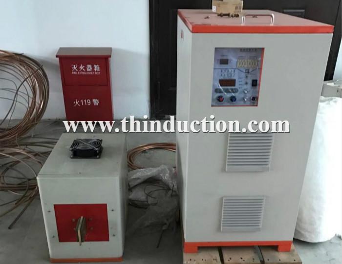 60KW/100-400KHZ gear induction hardening machine