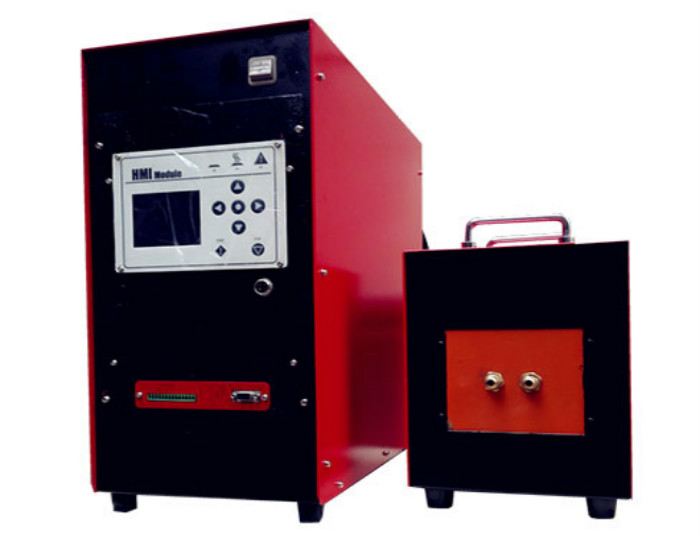 Digital intelligent high frequency induction brazing machine